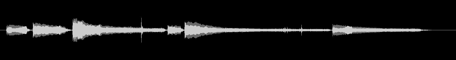 生音エレキギター6弦チューニング2の未再生の波形