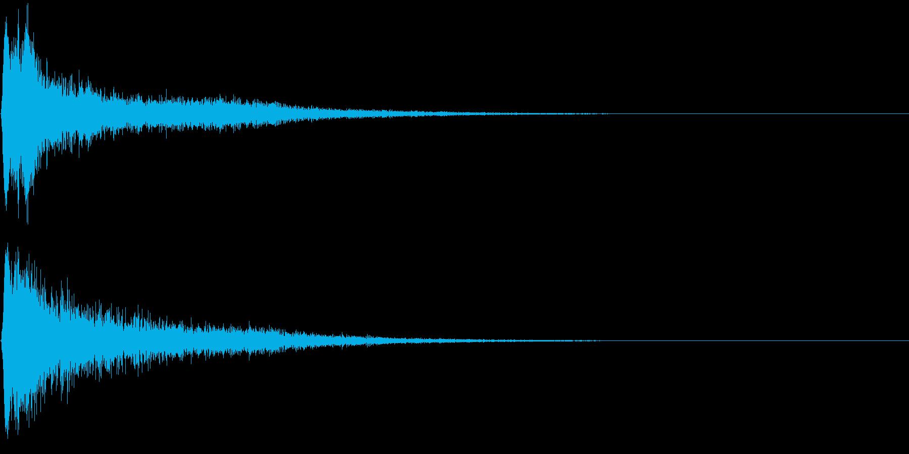【ゲーム】物音_07 カチャコンッ!!の再生済みの波形