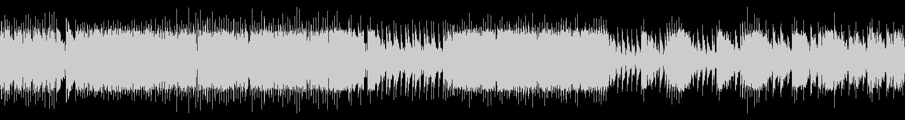 和太鼓/ループ/力強い太鼓の未再生の波形
