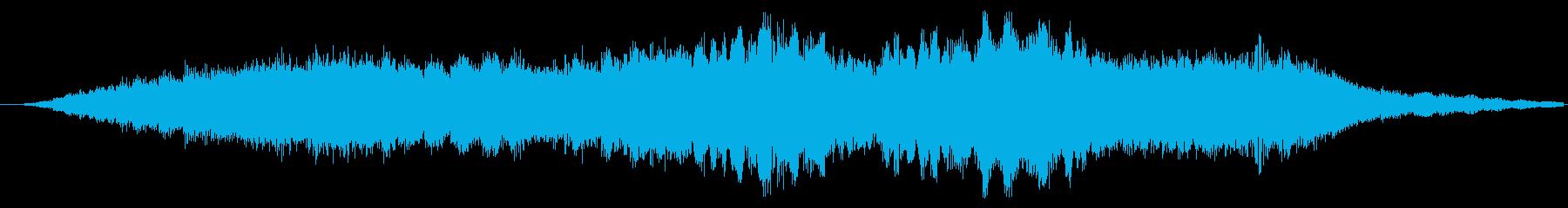 トランジション パッドスイープベント01の再生済みの波形