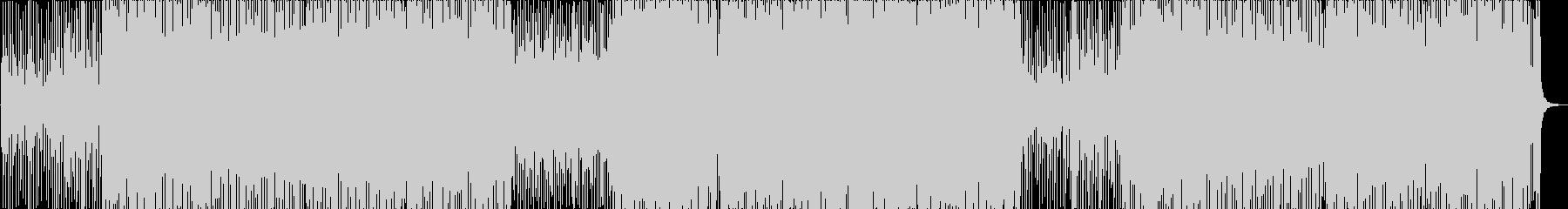 メロディが楽しいトロピカルハウスの未再生の波形