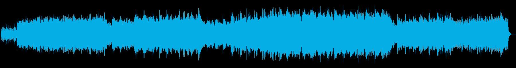 オルゴールのような音色が神秘的なサウンドの再生済みの波形