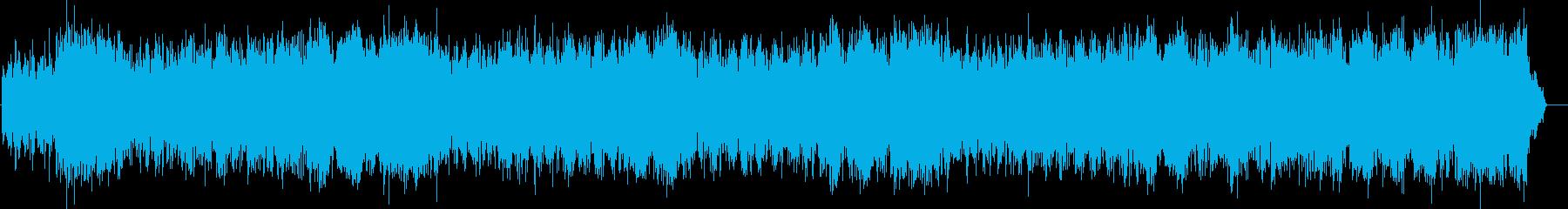 爽やかなアンサンブルのフュージョンの再生済みの波形