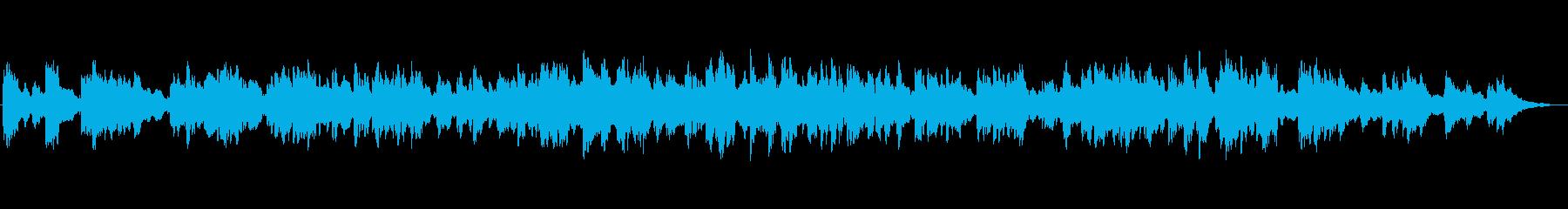 キラキラしたエレピが心地よいバラードの再生済みの波形