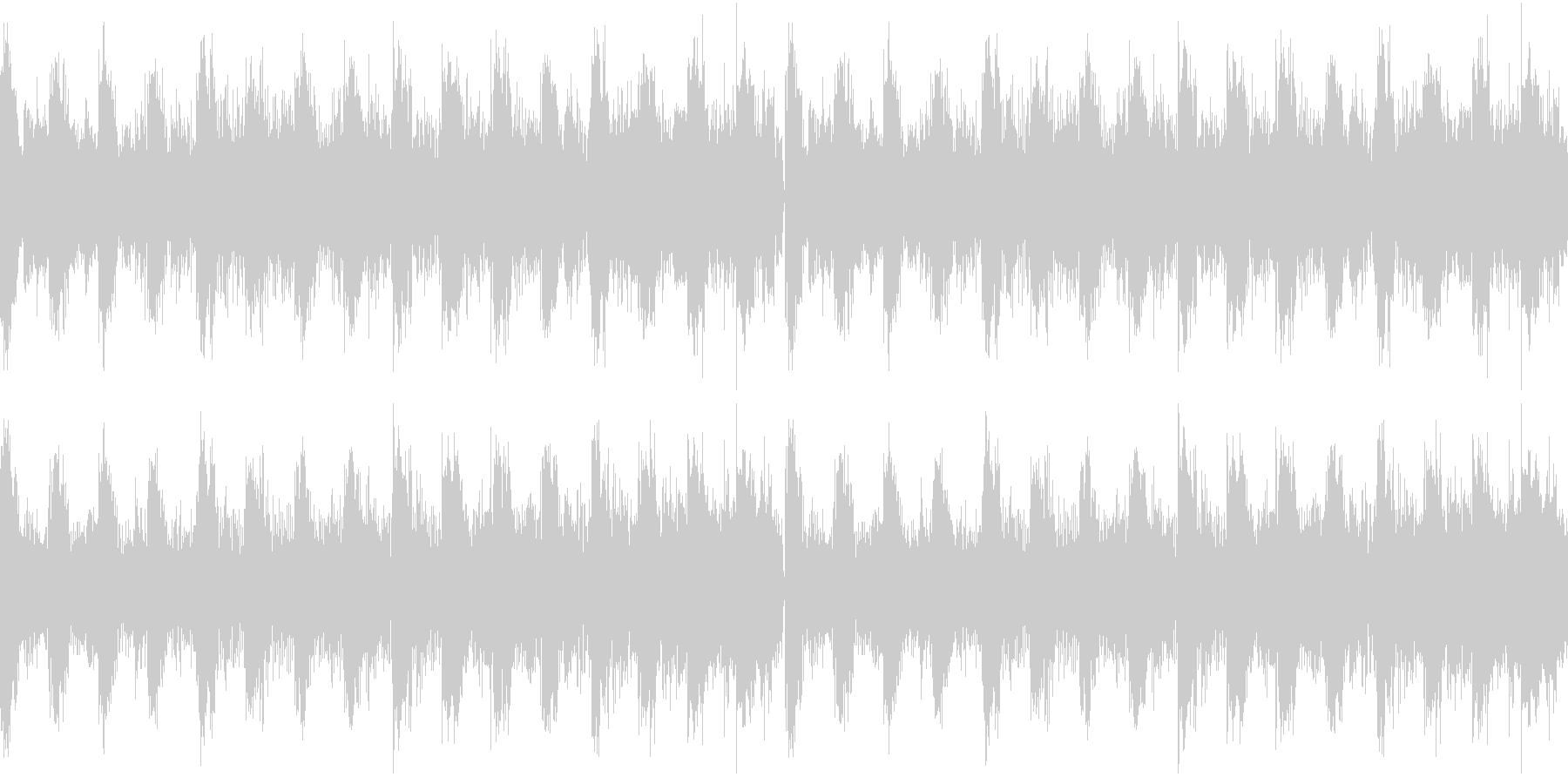 アルペジオが心地いいテクノ風BGMの未再生の波形