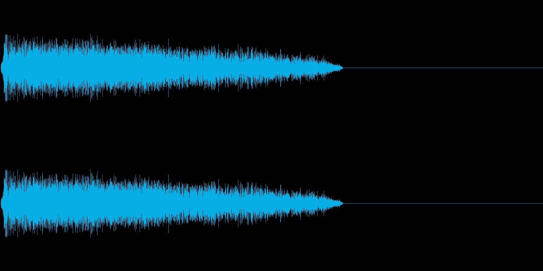 LoFiドラムキット07-シンバル01の再生済みの波形