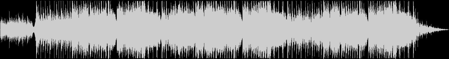 厳かな雰囲気のある和風ピアノBGMの未再生の波形