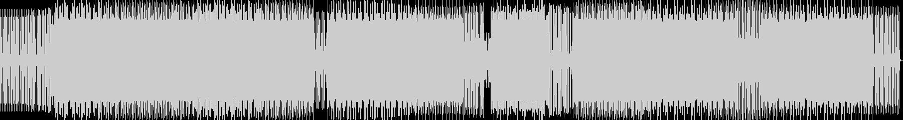 tech house 02 の未再生の波形
