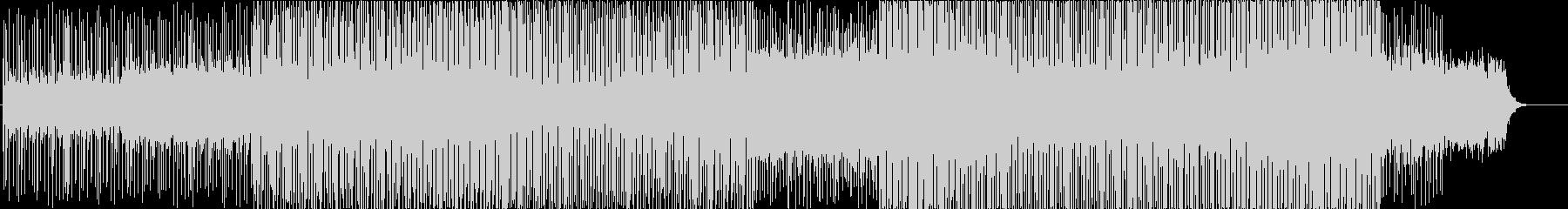 近未来的でメルヘンなファンタジックBGMの未再生の波形