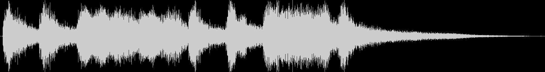 クラシックなイベント達成音ジングル2の未再生の波形