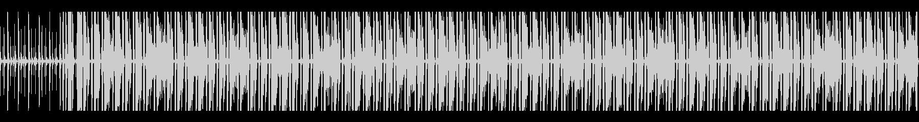 跳ねるリズムとメロディのオルガンポップスの未再生の波形