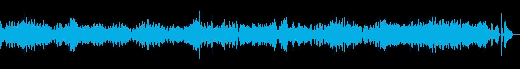 エチュード 作品10-4オルゴールverの再生済みの波形