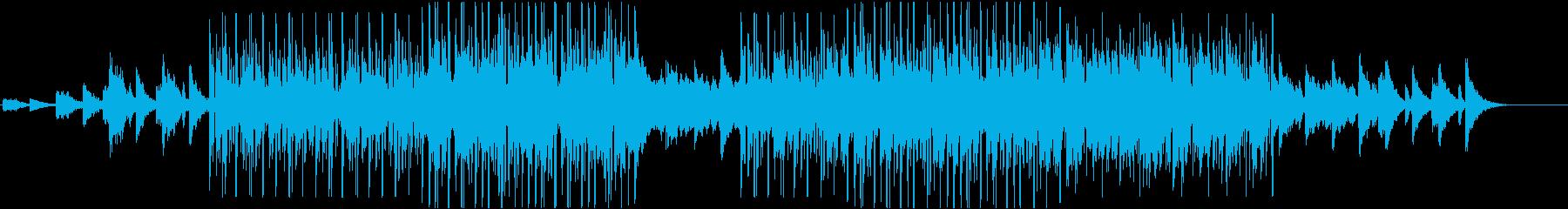 洋楽 チルアウト ヒップホップトラック✌の再生済みの波形