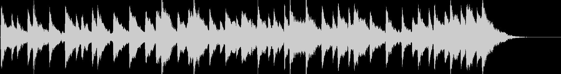 童謡「雪やこんこん」オルゴールbpm86の未再生の波形