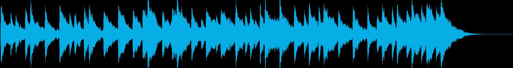 童謡「雪やこんこん」オルゴールbpm86の再生済みの波形