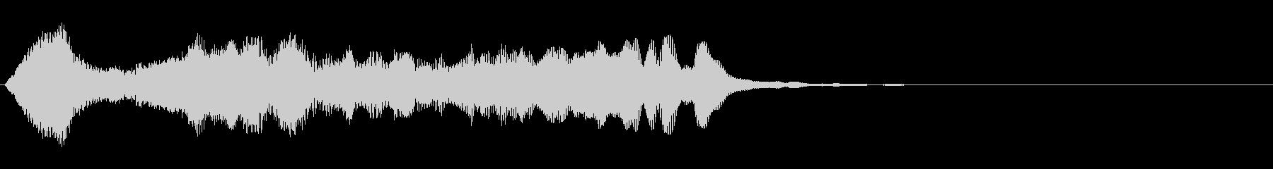 のほほんジングル017_神秘的+3の未再生の波形