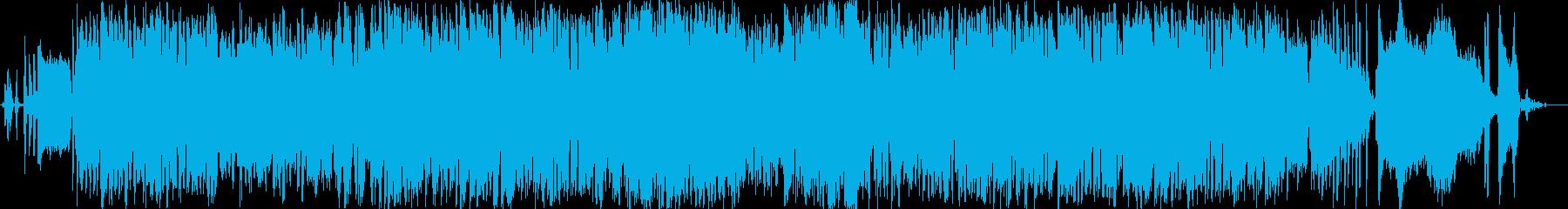 ロックンロールの再生済みの波形