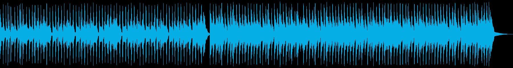 おしゃれなエレクトロスウィング01aの再生済みの波形