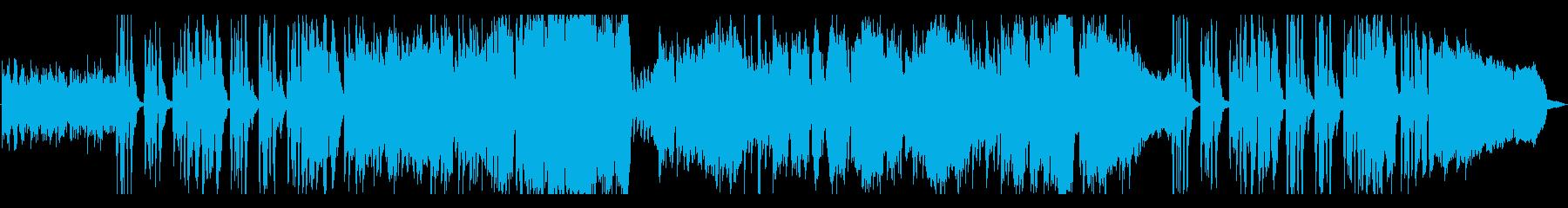 生演奏《トロンボーンのコミカルな曲》の再生済みの波形