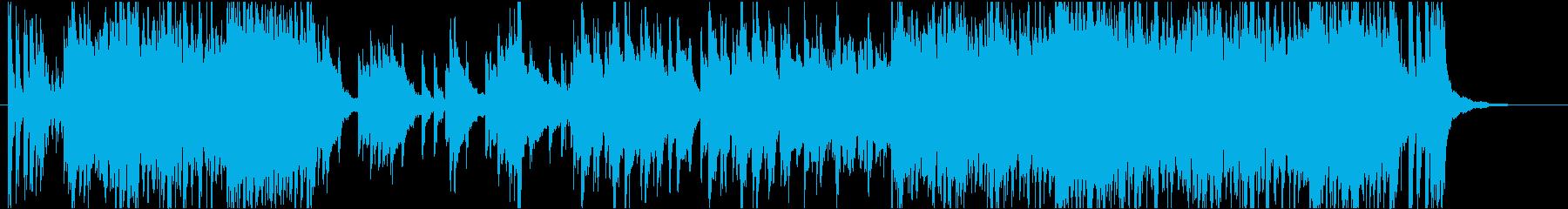和太鼓や琴を使ったキャッチーで和風元気の再生済みの波形