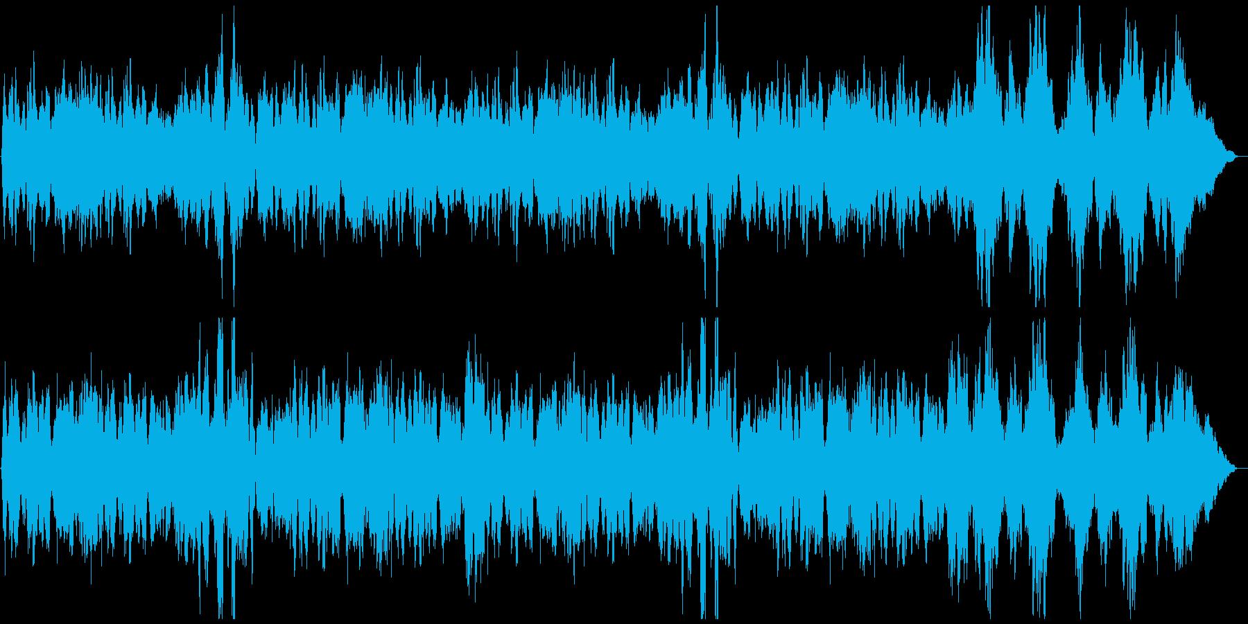 長閑でゆったり映像用オーケストラ「悠久」の再生済みの波形