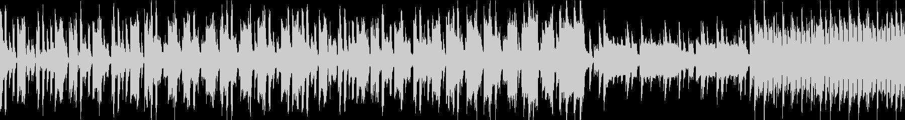 シンセ音のポップな日常風景曲。ループ仕様の未再生の波形