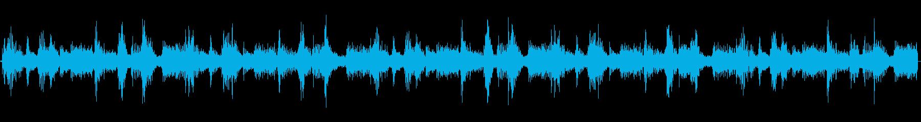 シンプルで合わせやすいループBGMの再生済みの波形