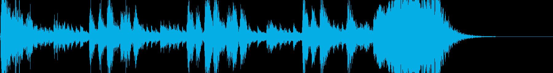 オーケストラのアイキャッチの再生済みの波形