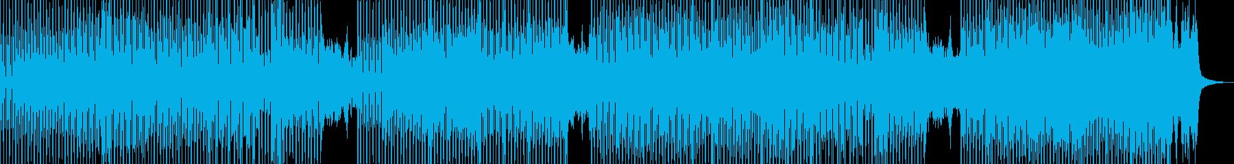 不気味可愛いハロウィン調テクノポップ Cの再生済みの波形