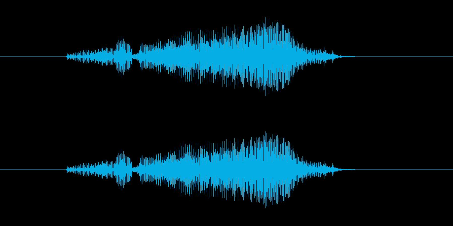 おらー! の再生済みの波形
