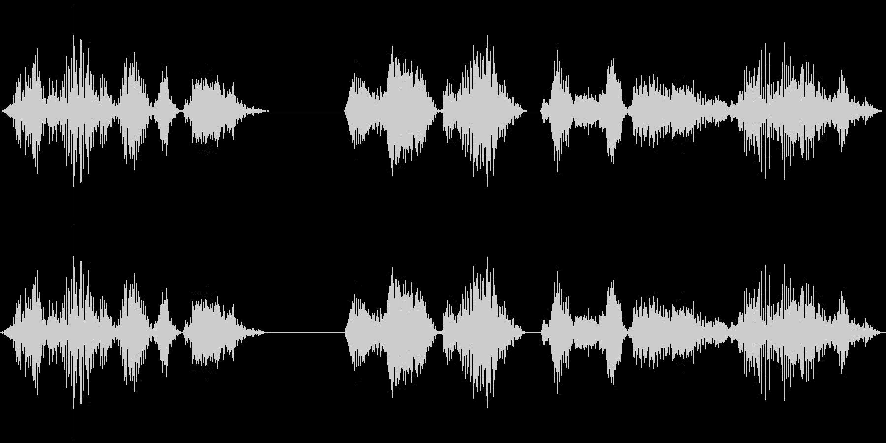 SHORT ALIEN VOICE...の未再生の波形
