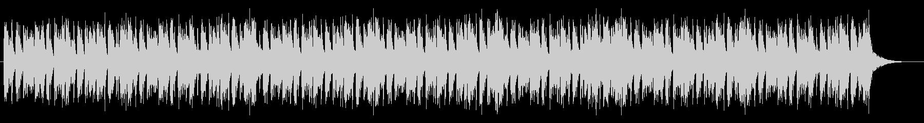 バイオリンとパーカッションによるBGMの未再生の波形