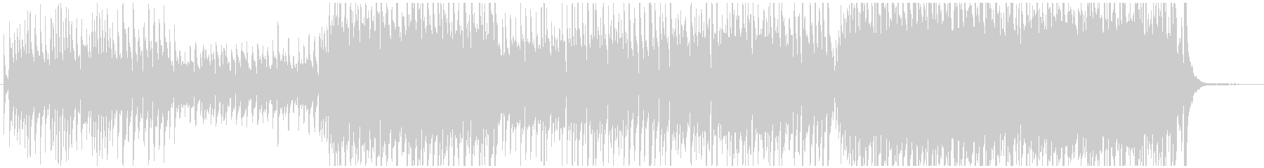 感動的なピアノメロオーケストラの未再生の波形