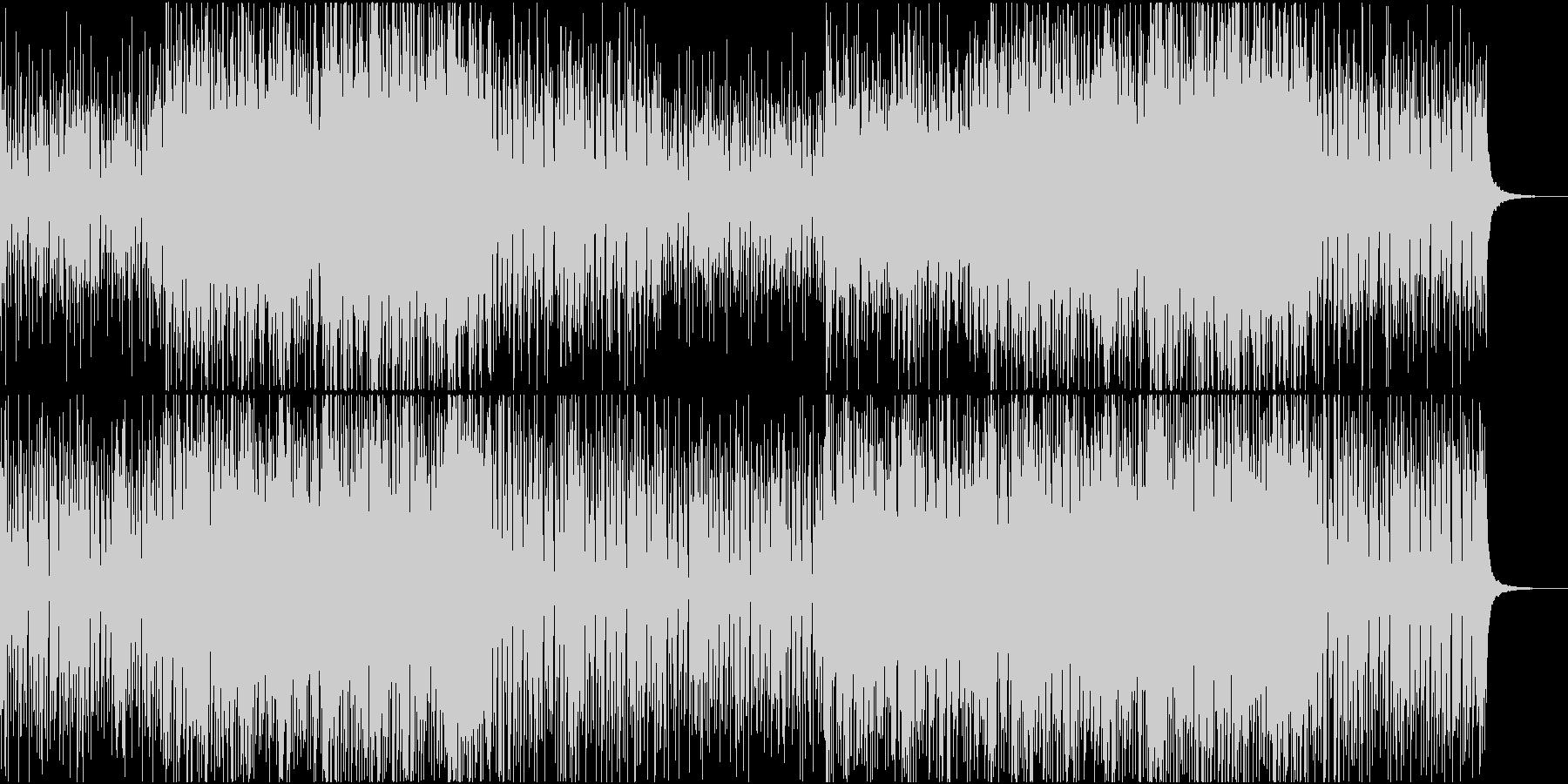 おしゃれで爽やか、ゆったりしたボサポップの未再生の波形