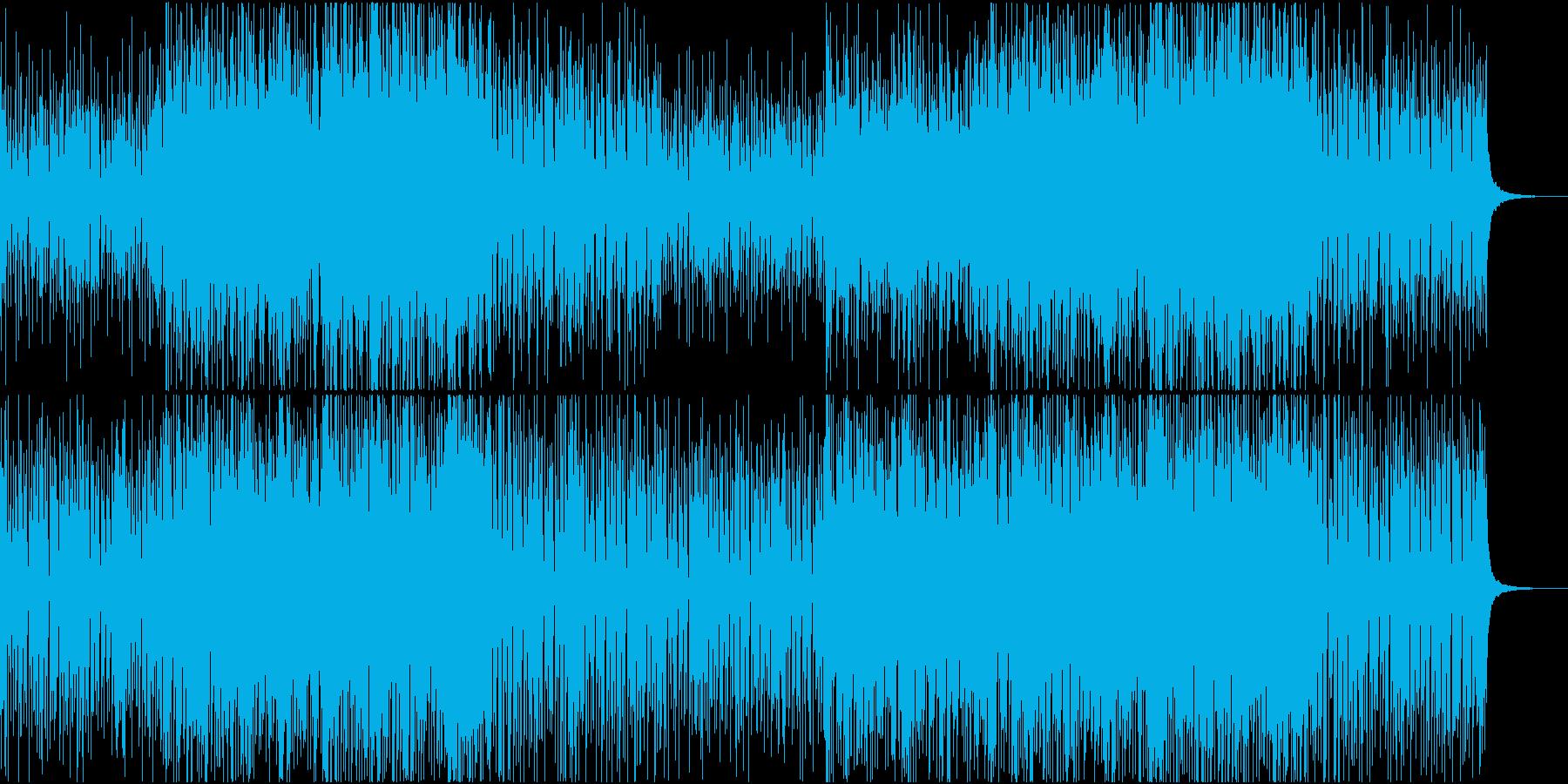 おしゃれで爽やか、ゆったりしたボサポップの再生済みの波形