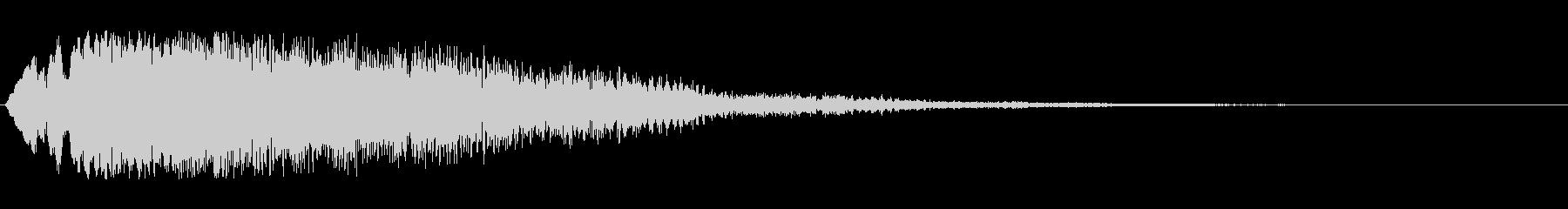 キラキラ流れ星(ダウン)の未再生の波形