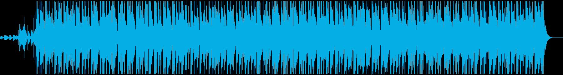 おしゃれなエレピ・グルーヴィな楽曲の再生済みの波形