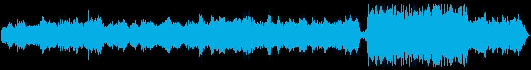 伸びやかなブラスソロの明るいアンビエントの再生済みの波形