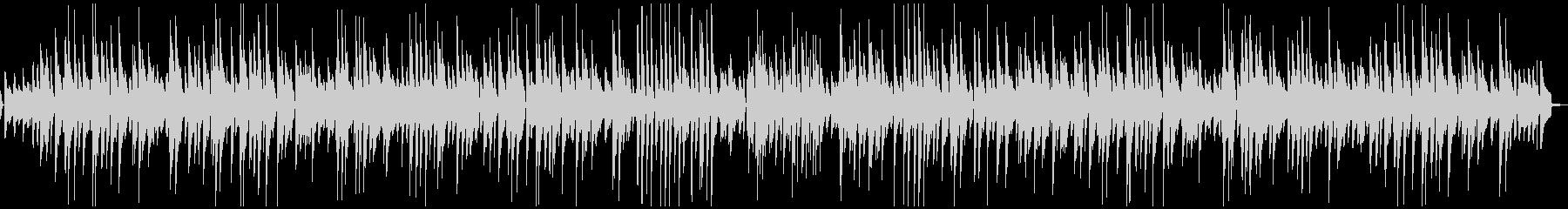 ピアノのゆったりスイングジャズの未再生の波形