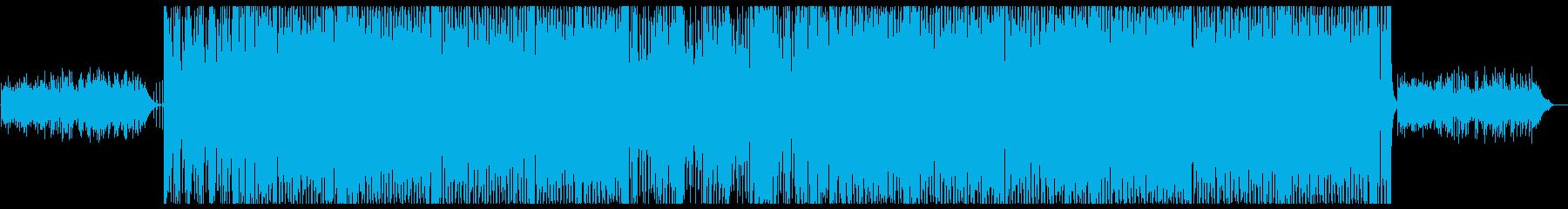 情熱的でエスニックなラテンインストの再生済みの波形