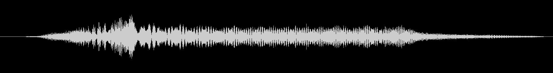 特撮 インターフェーススイープ01の未再生の波形