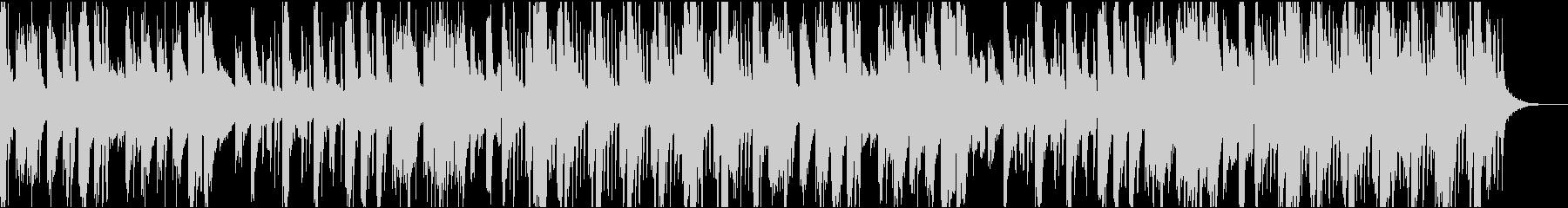 能動的な甲殻類的音楽の未再生の波形