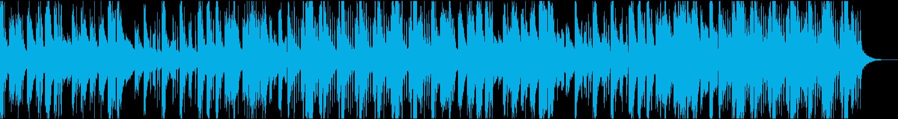 能動的な甲殻類的音楽の再生済みの波形