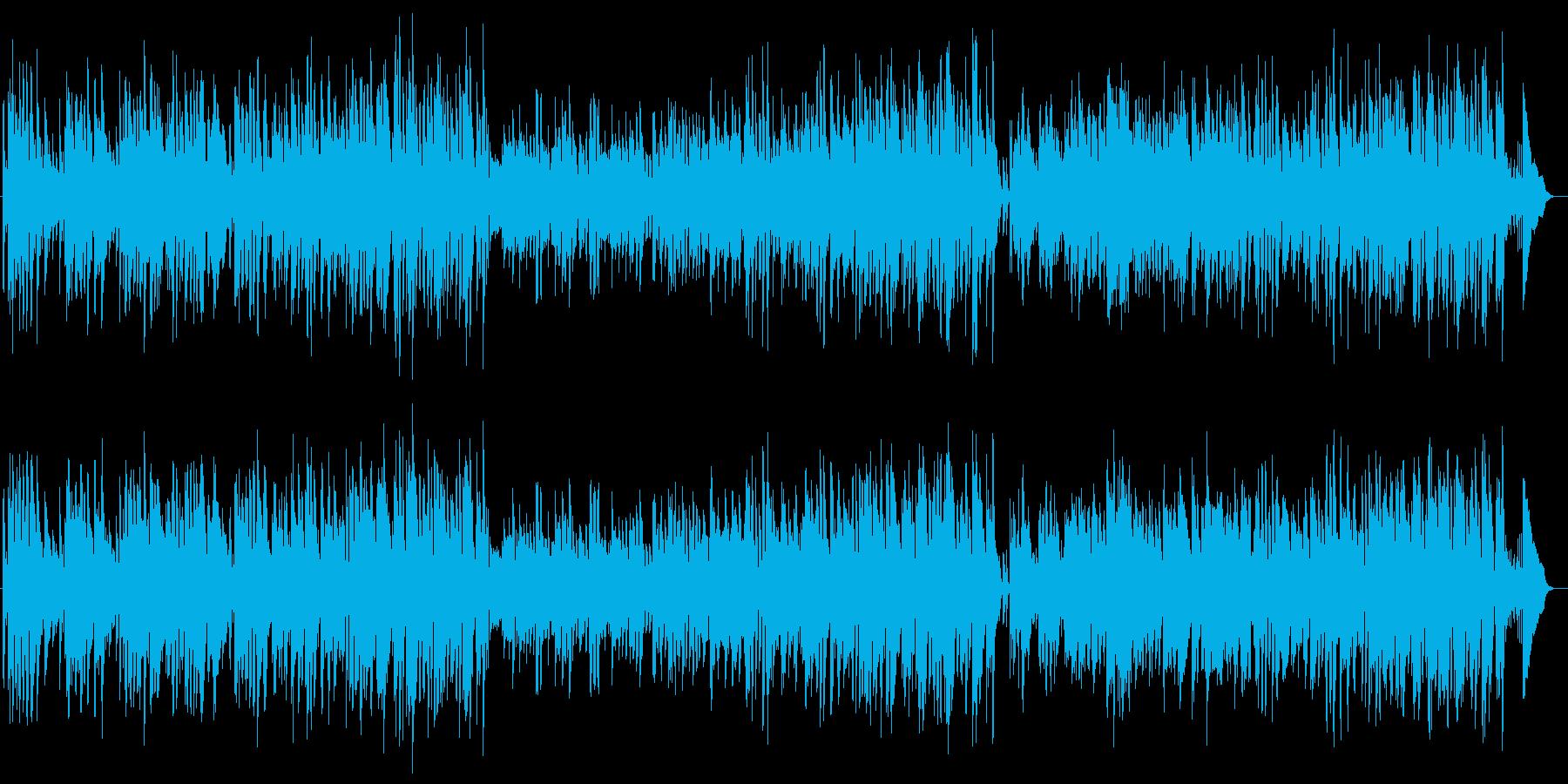 ヴァイブとギターのクールジャズ1950sの再生済みの波形