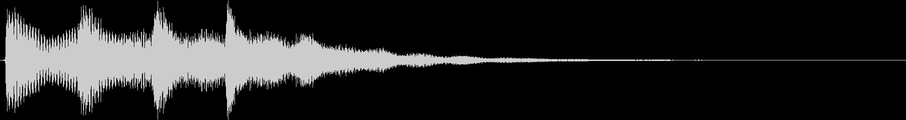 ポンパンポンピーンの未再生の波形