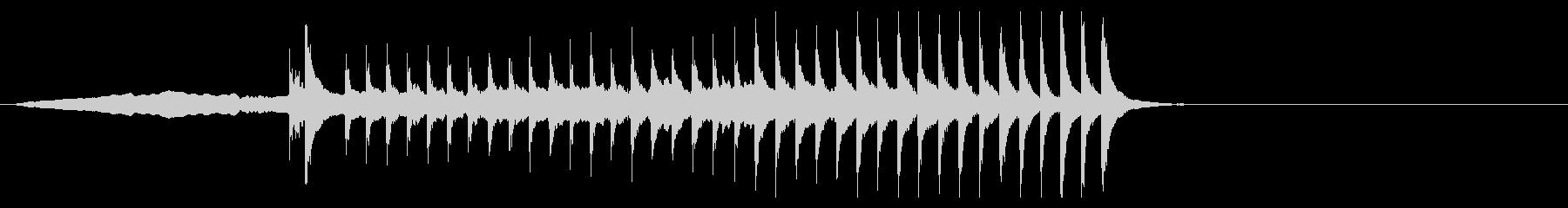 歌舞伎・能◆幽霊 横笛 篠笛 小太鼓 の未再生の波形