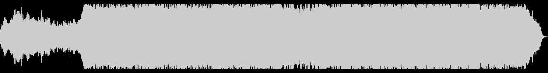 決死の戦闘をイメージさせるBGMの未再生の波形