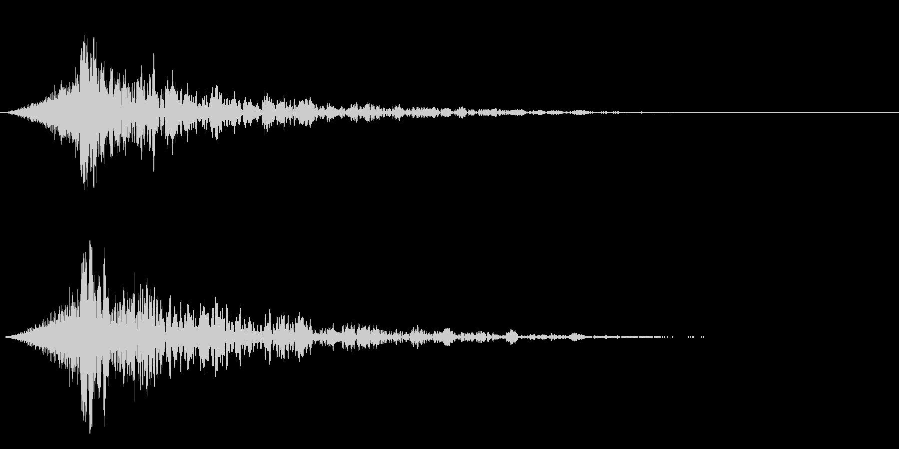 シュードーン-18-4(インパクト音)の未再生の波形