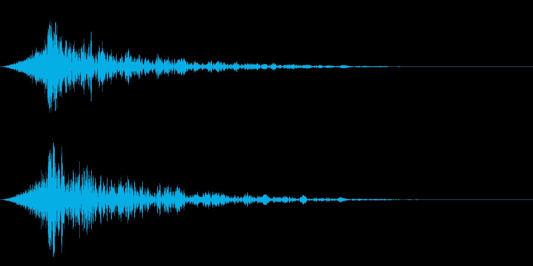 シュードーン-18-4(インパクト音)の再生済みの波形