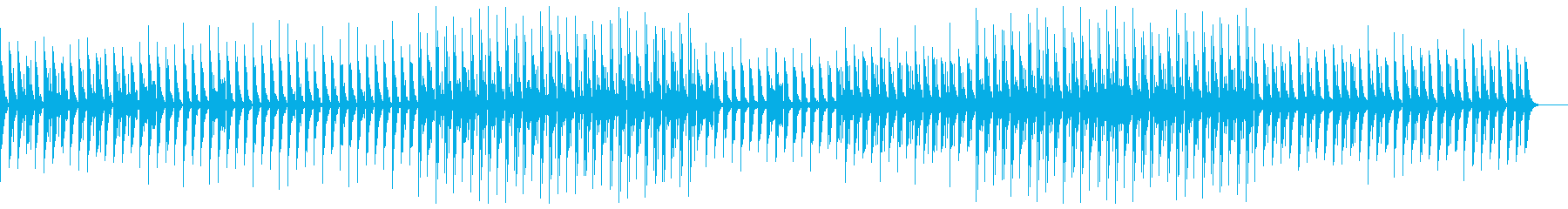 ベースなし バージョンの再生済みの波形